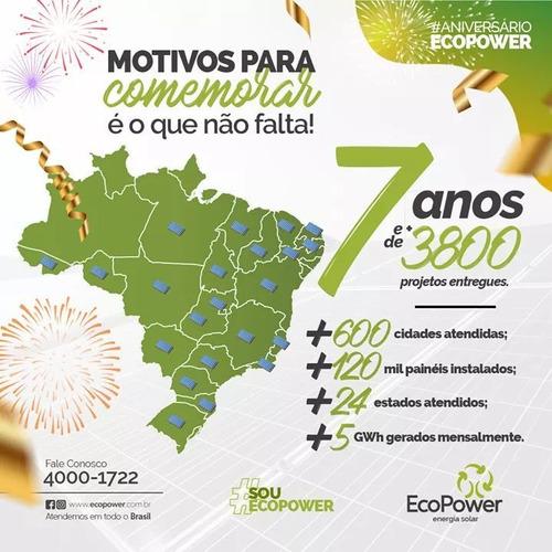 ecopower empresa lider em energia solar