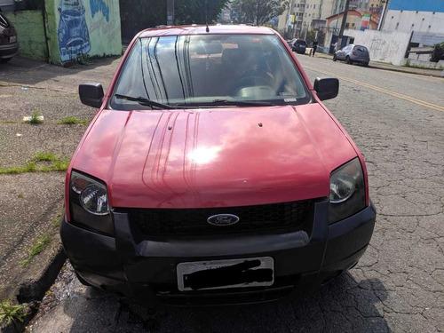 ecosport supercharger 1.0 2005 vermelha