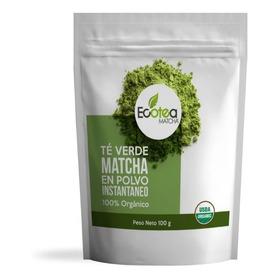 Ecotea Matcha Te Verde Japones Culinario  Usda Organico 100g