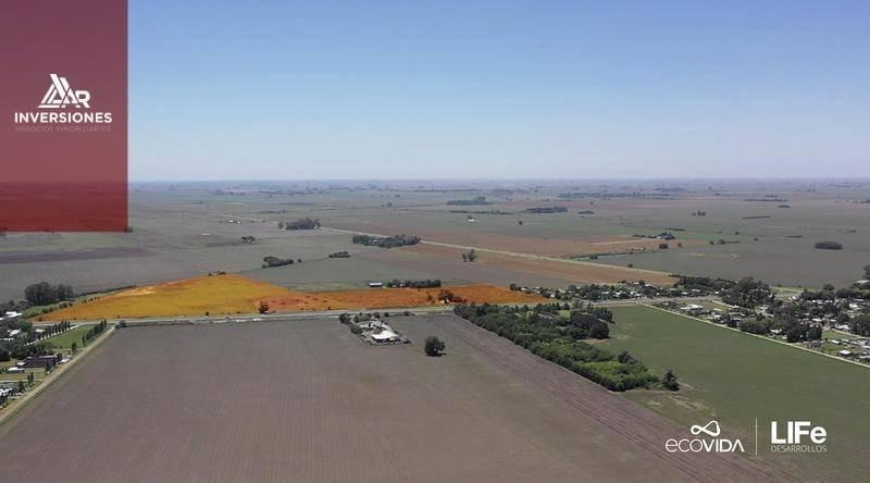 ecovida -lote comercial 345m2 en excepcional ubicacion - visible desde ruta nacional 18 - financiacion