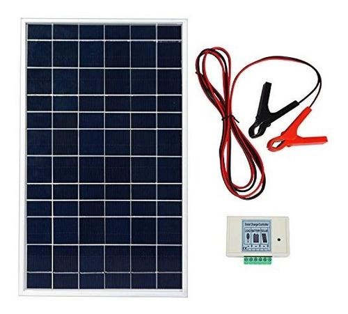 ecoworthy 10w pv panel de sistema de panel solar policristal