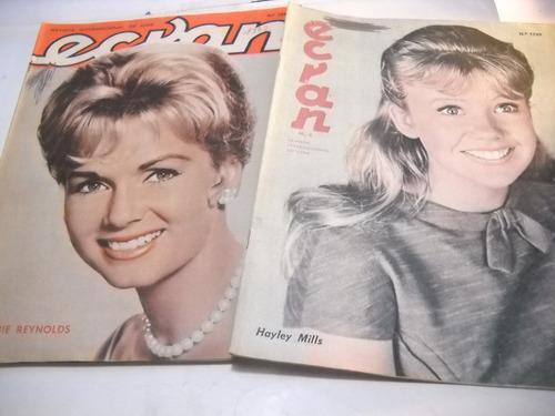 ecran revista cine espectaculo 1962/64 n 1653 a 1749 (4)