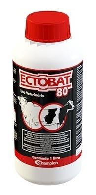 ectobat 80 - carrapaticida, mosquicida e bernicida