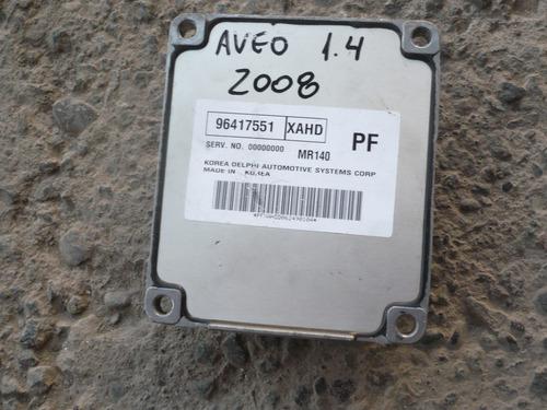 ecu aveo 1.4  año 2008 para reparar - lea descripción