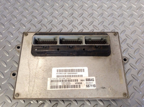 ecu computadora motor jeep liberty limited 4x4 3.7 mod 02-04