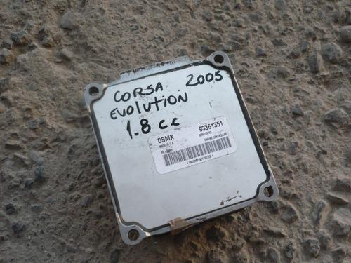 ecu corsa evolution 1.8 2005 para reparar - lea descripción