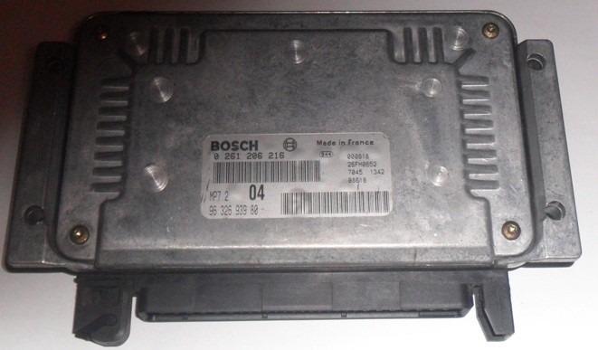 Ecu Peugeot 206 Bosch Mp7.2 Comdora Inyeccion - $ 5.000,00 en ...