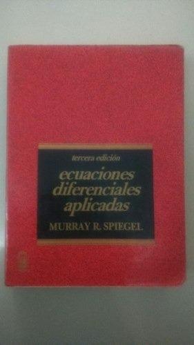 ecuaciones diferenciales aplicadas spiegel ccs