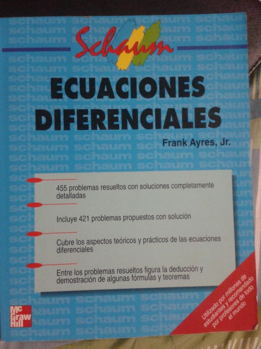ecuaciones diferenciales - frank ayres jr