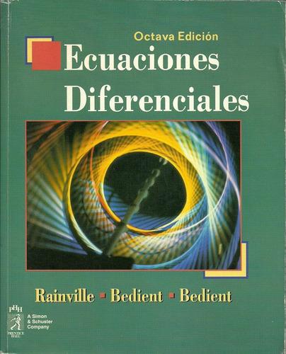 ecuaciones diferenciales rainville modelos matemáticos