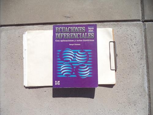 ecuaciones diferenciales - simmons