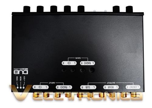 ecualizador by audiobahn es parametrico con 5 bandas genial.