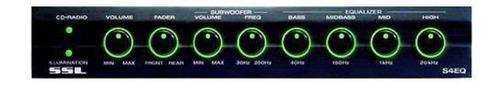 ecualizador de coche audio 4 band pre amp nuevo subwoofer c