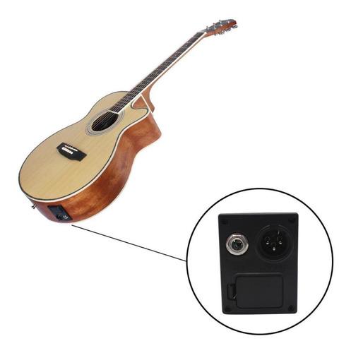 ecualizador de preamplificador de guitarra de 5 bandas con