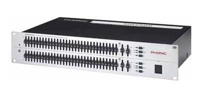 ecualizador grafico phonic mq-3600 dual 31+31 detalle sale%