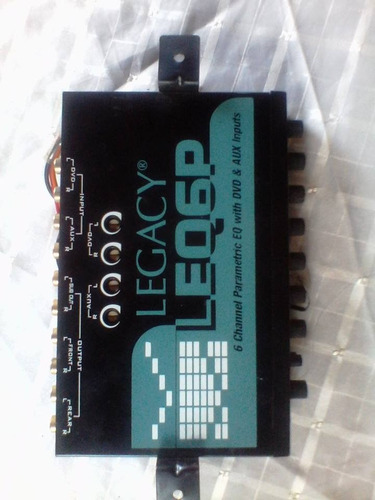 ecualizador legacy leq6p 6 channel modelo leq-6p
