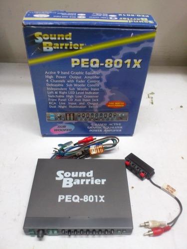 ecualizador marca sound barrier
