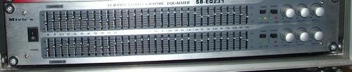 ecualizador, mivics  sb- eq231, miniteca, audio,hifi.31 band