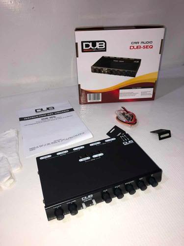 ecualizador para carro dub-5eq