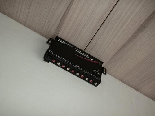 ecualizador & pre amplificador audiobahn aeq7