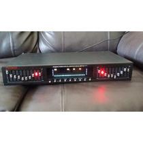 Ecualizador Grafico Stereo 10 Bandas Left Y Right Cada Una