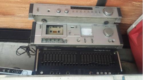 ecualizadores y amplificador