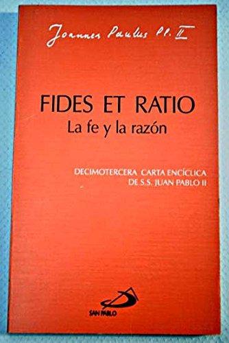 Image result for fides et ratio