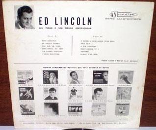 ed lincoln 1963 seu piano e órgão espetacular lp mono