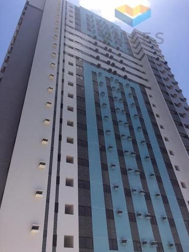 ed. mariana portela apartamento residencial à venda, farol, maceió. - ap0197