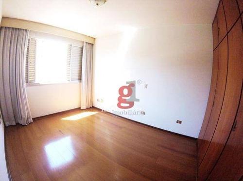 ed. marques de olinda - apartamento com 4 dormitórios à venda, 266 m² por r$ 750.000 - centro - londrina/pr - ap0174