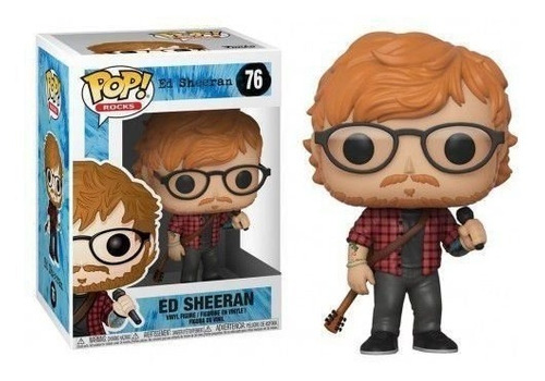 ed sheeran 76 -  funko pop rock -100% original