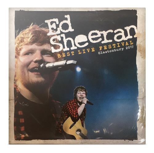 ed sheeran best live festival glastonbury 2017 disco sellado