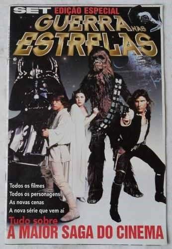 ed244- revista set ed especial guerra nas estrelas 41x27cm
