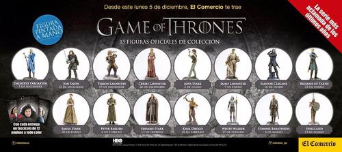 eddard stark - figuras game of thrones pintadas a mano
