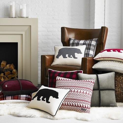 eddie bauer alpine 20-inch decoracionative almohadas