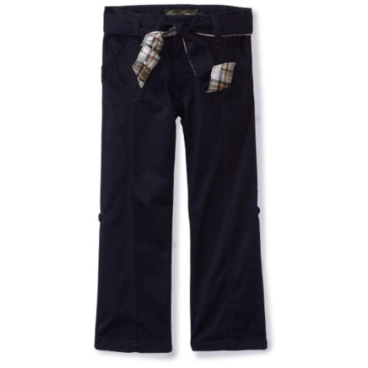 Eddie Bauer Pantalones En Sarga De Ninas 148 433 En Mercado Libre