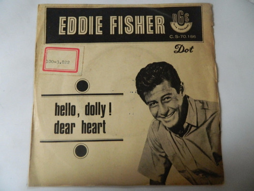 eddie fisher - hello, dolly! - compacto ep 11