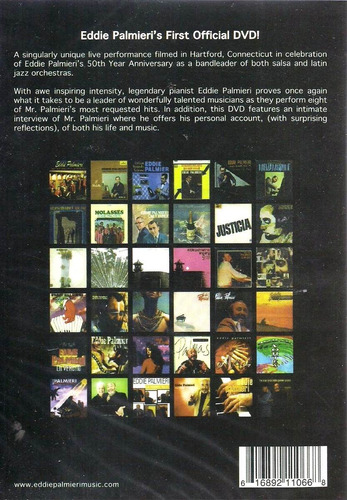 eddie palmieri 50th year anniversary dvd