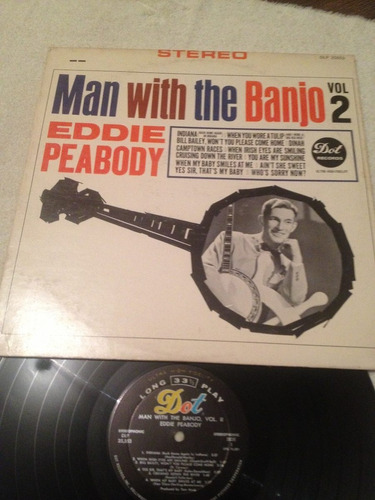 eddie peabody man with the banjo vol.2