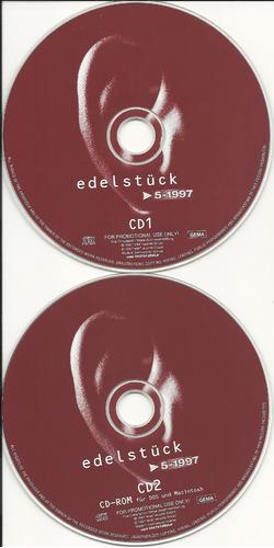 edelstück 5/1997 rock/dance (ex+/ex+)(germany) 2cd import*