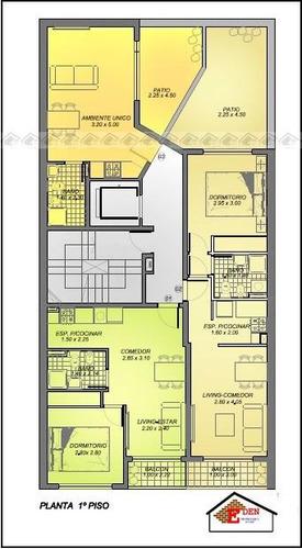 eden propiedades departamento de 1 dormitorio al frente  balcarce y urquiza   rosario