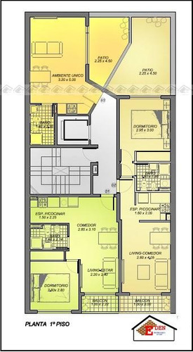 eden propiedades duplex 1 dormitorio balcarce y urquiza | rosario
