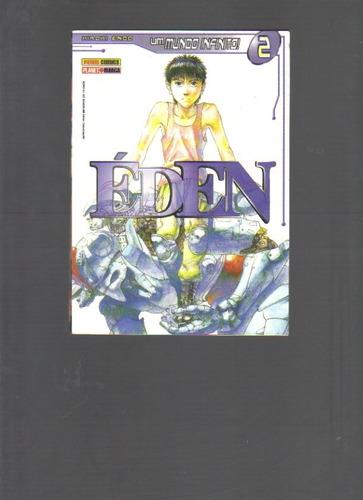 éden um mundo infinito! nº 2  planet manga - panini comics
