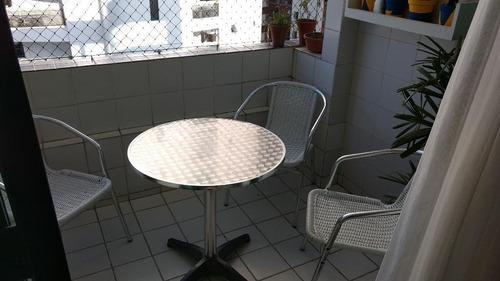 edf. alameda rosarinho, 86m2, nascente, varanda, 3 quartos, suíte, 2 vagas soltas, 99282-7810 (whattsapp) - ap2033