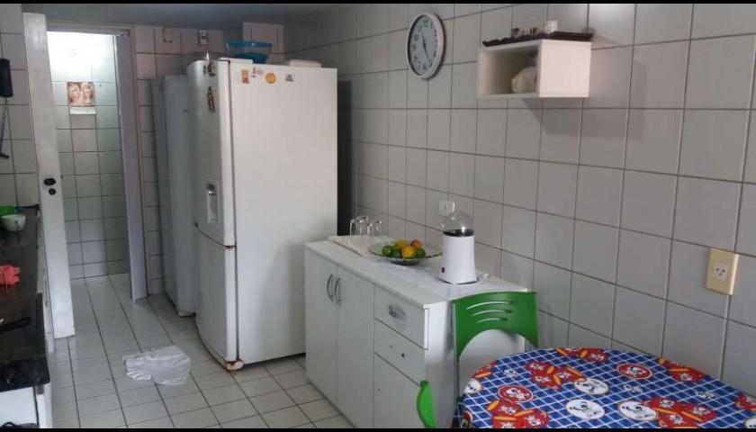 edf. costa azevedo, 225m2, 4 quartos, 2 suítes e 3 garagens. - ap2144