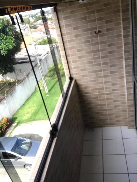 edf. sobrado beberibe, 60m2, todo reformado, varanda, 2 quartos, suíte, nascente, armários, garagem coberta, salão de festas. - ap3469