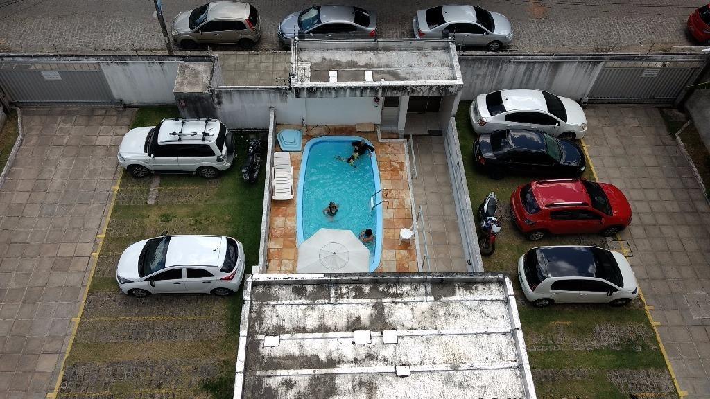 edf. village iputinga, 72m2, varanda, 3 quartos, suite, reformado, piscina, elevador, 99282-7810 (whattsapp) - ap1744