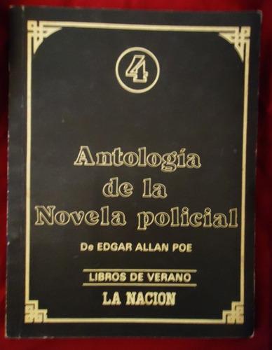 edgar allan poe antología de la novela policial