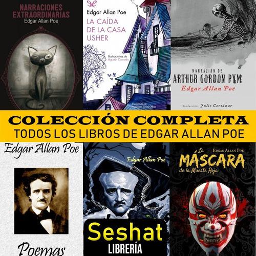 edgar allan poe - gran colección cuentos, novelas, poesias