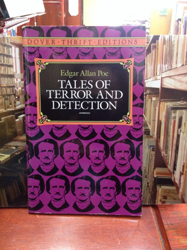 edgar allan poe - tales of terror and detección- en ingles
